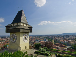 Graz, Uhrturm tower