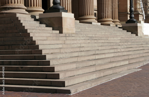 Columns And Stairs - 4041408