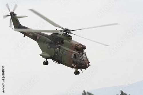 Fotobehang Helicopter SA.330 Puma