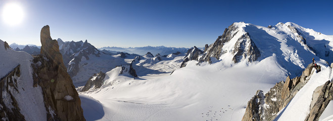 Massif du Mont blanc France