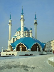 Kul Sherif mosk in Kazan, Tatarstan, Russia