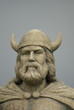 Head of Viking Statute at Gimli,Manitoba