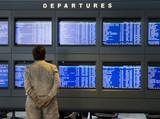 departure schedule poster