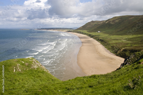 Rhossili Bay, South Wales Uk