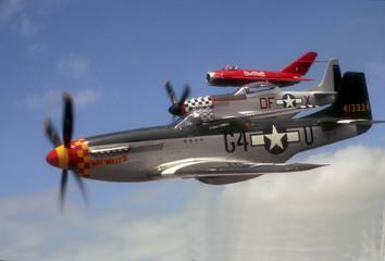 P-51 & MiG-17