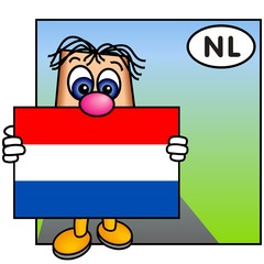 'Paley' Presenting the Dutch Flag (Netherlands)