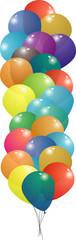 balloon set string