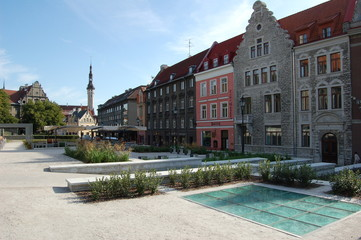 place pittoresque de Tallinn