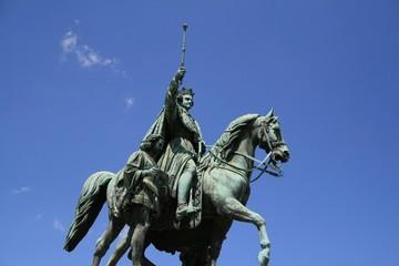 Koenig Ludwig Statue
