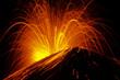 Leinwanddruck Bild - Krakatau