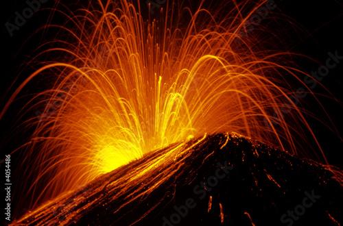 Leinwanddruck Bild Krakatau