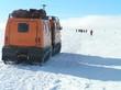 Leinwandbild Motiv Antarctica Snow Truck-2