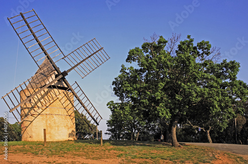 Fototapeta paillas windmill