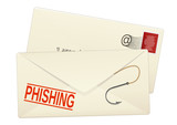 Courrier phishing poster