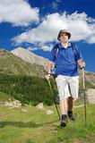 Fototapety Hiking in national park Pirin, Bulgaria