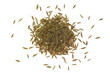 Pile of cumin seeds..