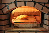 Pizza oven poster