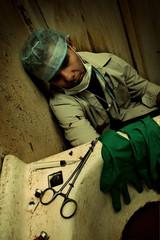 Filthy Medical scene