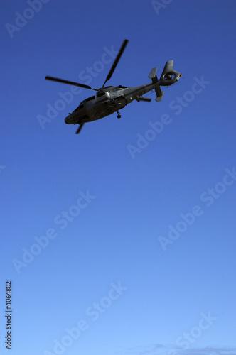 Poster hélicoptère de l'armée