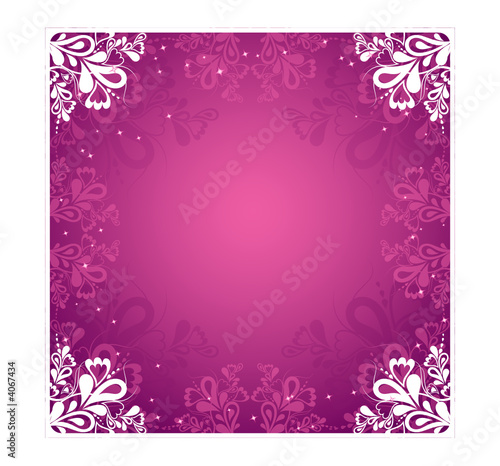 pink background, vector illustration