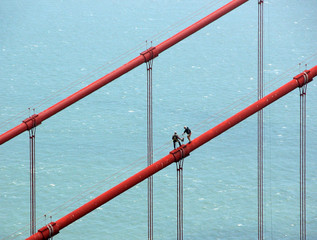 Cleaners of the Golden Gate Bridge