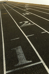 Marking on a track