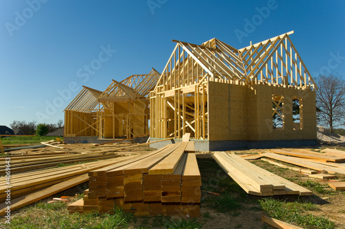 canvas print picture Construction industry