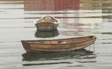 Norwegian rowing boat.  poster