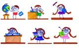 School Days Cartoons poster