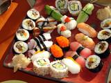 Fototapeta Japanese sushi