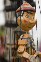 Marioneta de pinocho