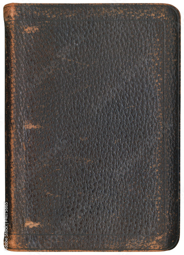 Antique Three Ring Binder Cover