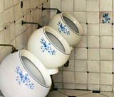 urinals painting Gzhel