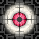 Sharp shooting eye poster
