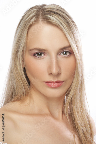 Young woman with make-up
