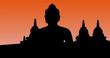 Indonesia, java, Borobudur: Vector