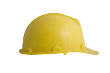 A yellow hard hat