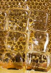 Cold honey comb