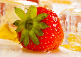 Cold strawberry