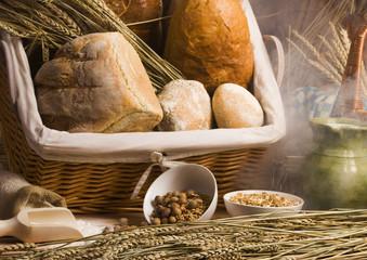 Bread arrangement