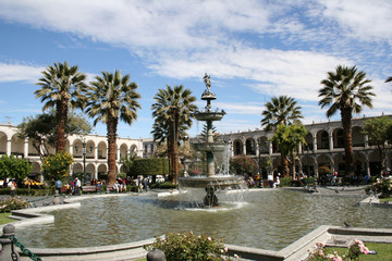 Place d'armes d'Arequipa