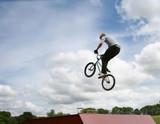 Stunt Cyclist poster