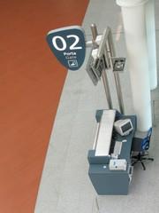 Airport gate - gate desk