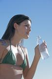 beach hydration poster