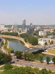 Vilnius, Lithuania, view from the Gediminas Tower