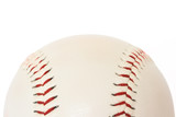 Base ball isolated on white background close up poster