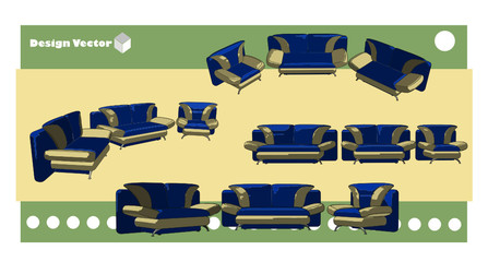 vector de mueble