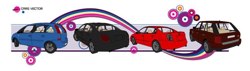 vector de automoviles