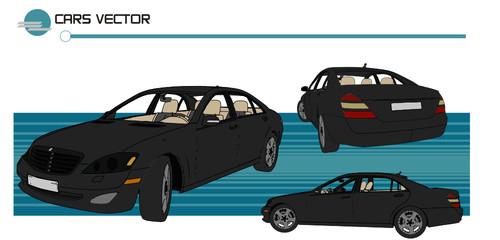 vector de auto