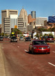 Downtown Detroit Traffic